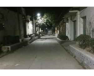 武安市明峪村80套雷竞技官网雷竞技Raybet官网亮化 (3)