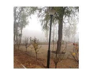 2016年11月18号曲周县安寨乡河固村街道亮化竣工 (2)